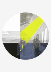 Anna Caruso - Delle cose e delle persone - acrilico su carta, 70x50cm, 2016