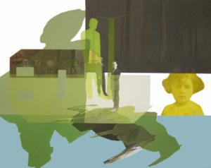 Anna Caruso - La casa sul lago, 2014, acrilico su tela, 70x90 cmGET