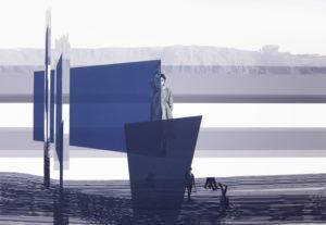 Anna Caruso -Non ricordo mio padre, 80x120cm, acrilico su tela, 2015pp