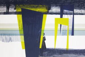 Anna Caruso - Non ricordo mio padre #, acrilico su tela, 80x120cm, 2015pp