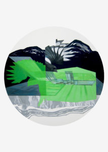 Anna Caruso, acrilico su cartab, 70x50 cm, 2016pp