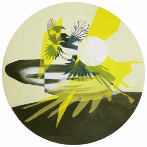 Anna Caruso - i miei desideri sono pochi - acrilico su tela, 30x30cm, 2015