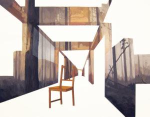Anna Caruso - se non ora quando,, acrilico su tela, 70x90cm, 2013