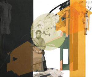 anna caruso - toeletta, acrilico su tela, 50x60cm, 2014p